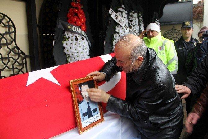 Şehit Polis Alagöz, Son Yolculuğuna Uğurlandı