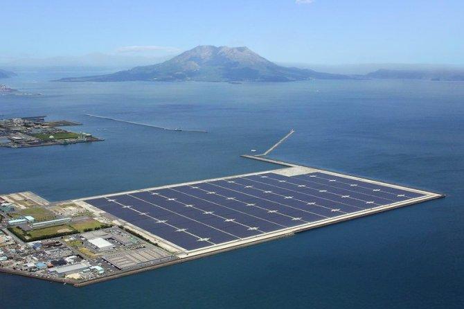 Japonya 18 futbol sahası büyüklüğünde güneş panelleri inşaa ediyor