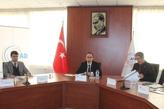 STK Temsilcilerinin Katıldığı Koordinasyon Toplantısı Yapıldı