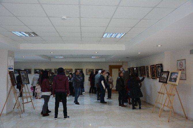 Kuşadası Ticaret Odası'nda 3 Boyutlu Kat'ı Sanatı Sergisi
