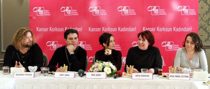 Kayahan'ın şarkılarını kanser hastası kadınlar için söylediler