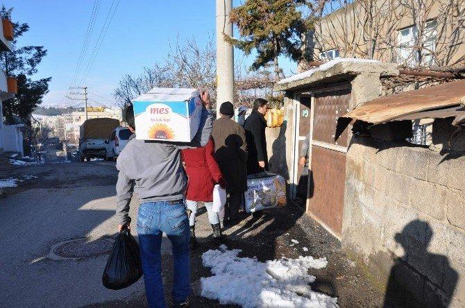 Siirt Belediyesi'nden Cizreli Ailelere Yardım