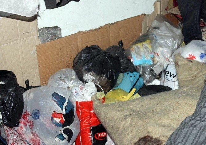 Siirt'te 'Çöp Ev' Baskını