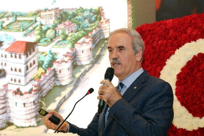 Başkan Altepe Tarihi Kentler Birliği Toplantısı'nda Bursa'yı Anlattı