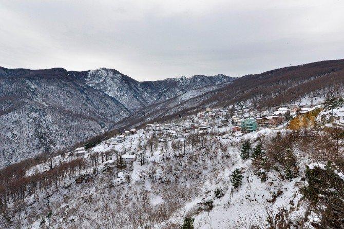 Yıldırım'da Kar Bir Başka Güzel