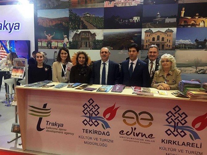 Vali Salihoğlu EMITT 2016 Fuarını Ziyaret Etti