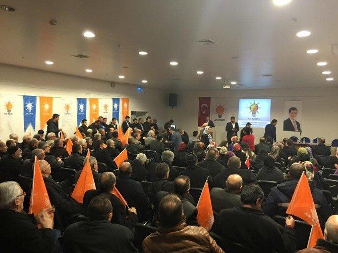 AK Parti Palandöken İlçe Danışma Meclis Toplantısı Yapıldı