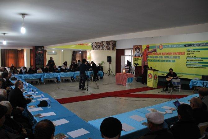 Tunceli'de 'Pirler Çalıştayı' başladı