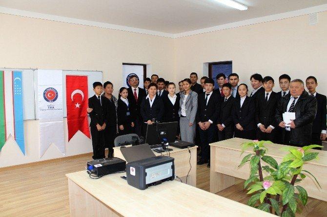 TİKA'dan Özbekistan'da Eğitime Destek