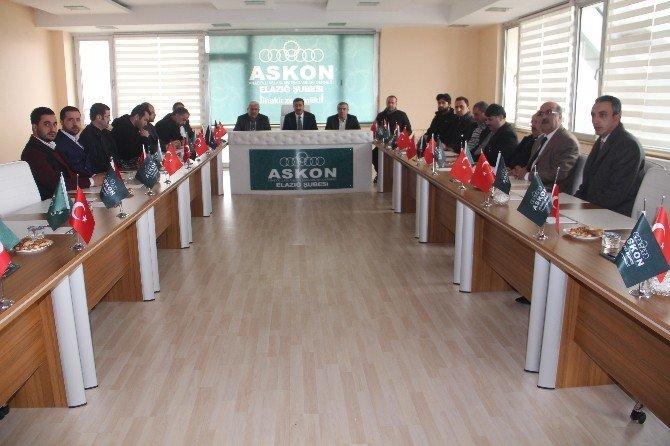 Türkiye Anayasa Platformu Elazığ Üyeleri Açıklama Yaptı