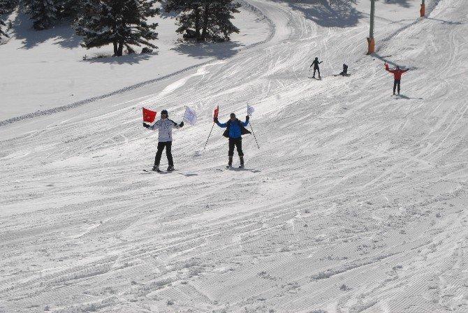 Göl Manzaralı Kayak Tesisi, Ziyaretçilerini Bekliyor
