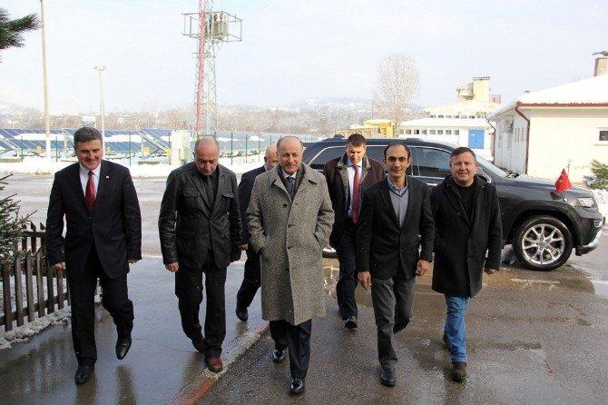 Bartın Valisi Azizoğlu Özkarkom Çalışmalarını Denetledi