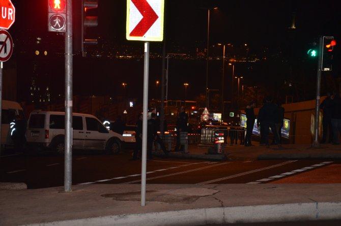 Beşiktaş'ta şüpheli şahıs vurularak durduruldu