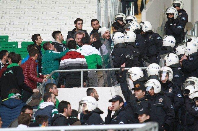 Bursa'da Olaylı Maç