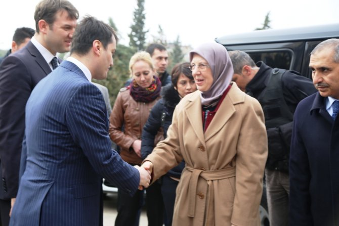 Aile ve Sosyal Politikalar Bakanı Sema Ramazanoğlu Mardin'de