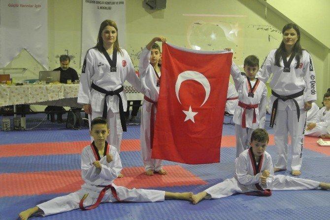 Havuzbaşı İlköğretim Okulu'nda Taekwondo Kuşak Sınavı