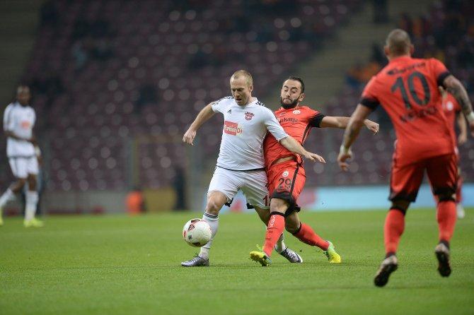 Galatasaray: 3 - Gaziantepspor: 1
