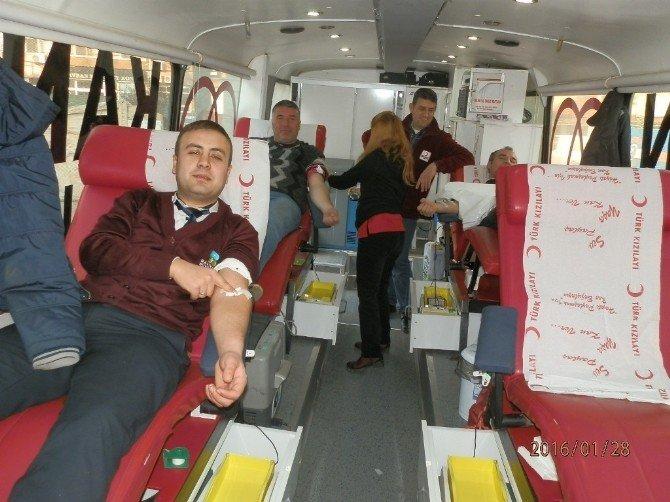 Havranlılar Kan Bağışı İçin Yarıştı
