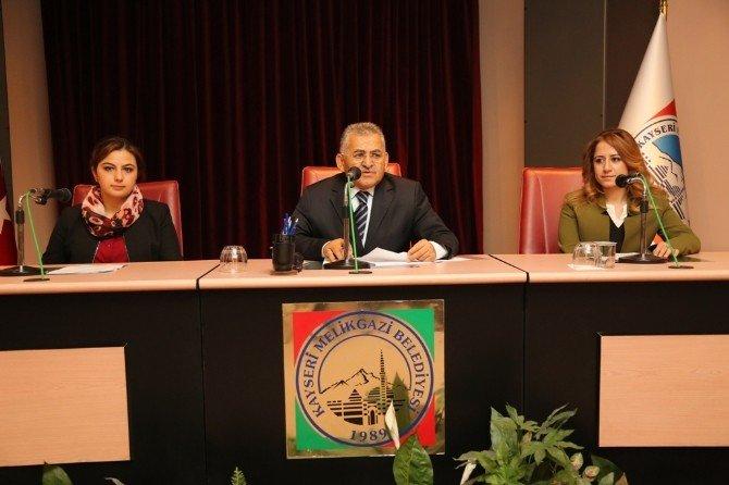 Melikgazi Belediye Meclisi Toplanıyor