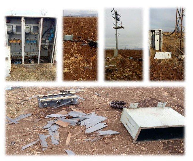 Konya'da 42 Bin Liralık Trafo Hırsızlığı