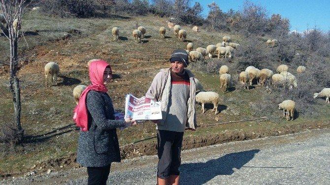 Manisa Büyükşehir'in Gazetesi 17 İlçeye Ulaştırılıyor