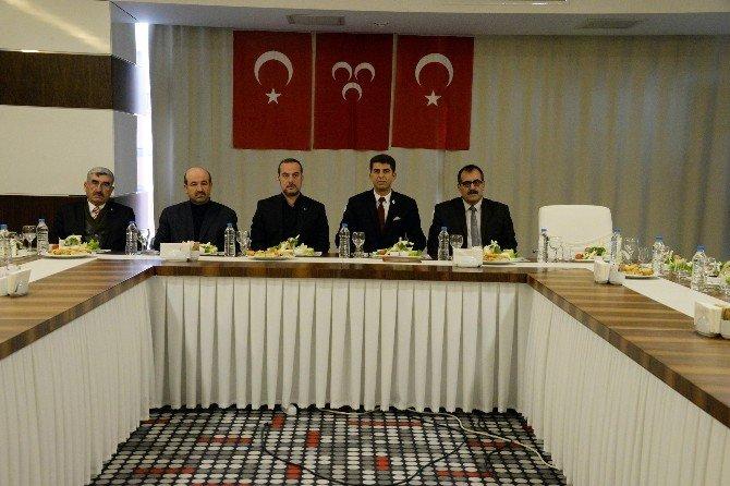MHP Heyeti Diyarbakır'da