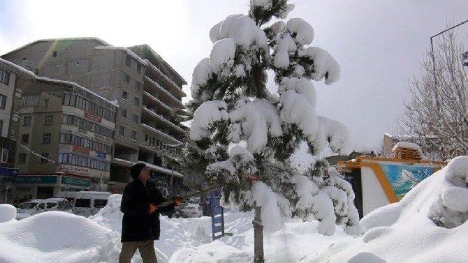 Muş'ta Kar Temizliği