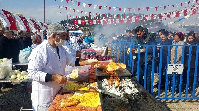 "İki Ton Sucukla ""Sucuk Ekmek Festivali"""
