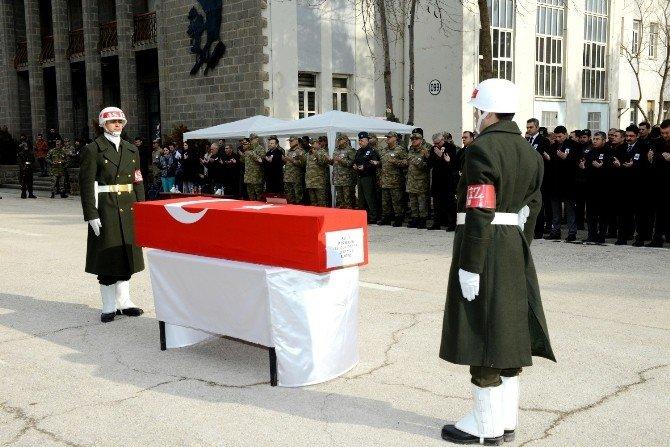 Şehit Uzman Çavuş Selçuk Paker İçin Tören Düzenlendi