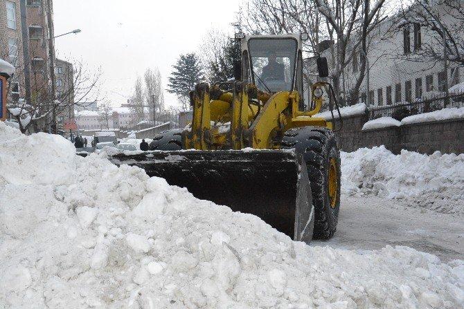 Tatvan'da Kar Temizleme Çalışmaları