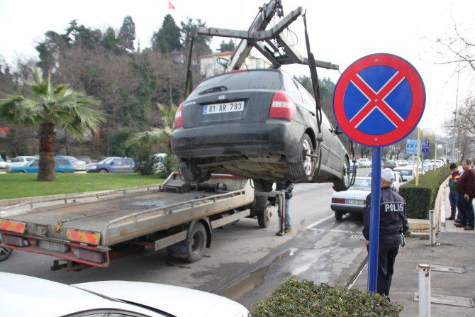 3 aydır kullandığı aracın plakasının yanlış olduğunu çekilince anladı