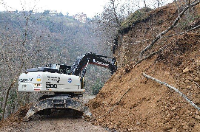 Trabzon'da Heyelanlar
