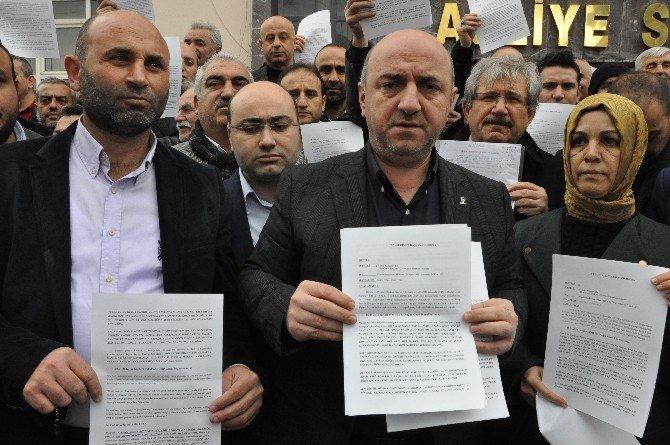 AK Parti Darıca Teşkilatından Kılıçdaroğlu'na Suç Duyurusu