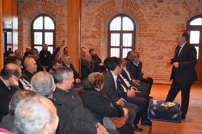Milletvekili Karacan'ın Seyitgazi Ziyareti