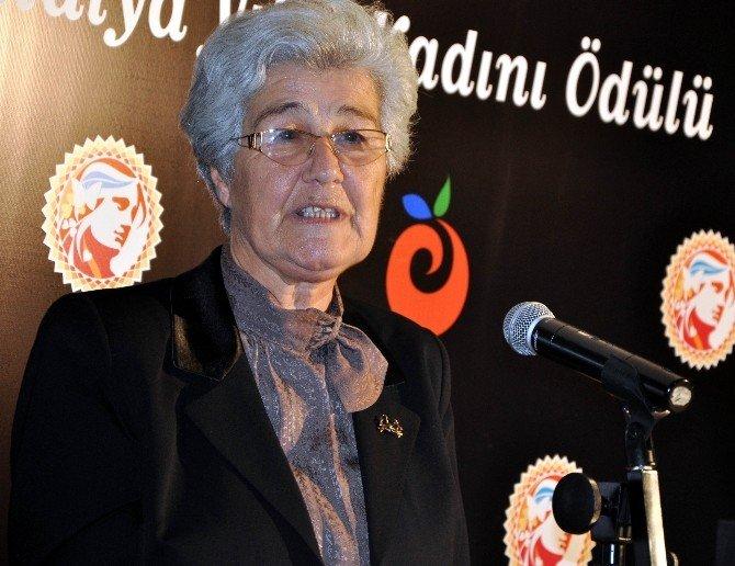 Jale İnan Antalya Yılın Kadını Ödülü Sahibini Buldu