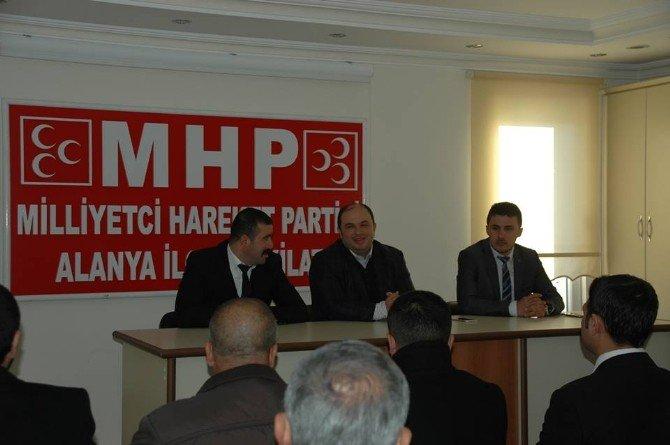 Antalya Ülkü Ocakları'ndan İstişare Toplantısı