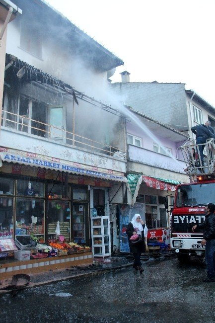 Bozkurt'ta Korkutan Yangın