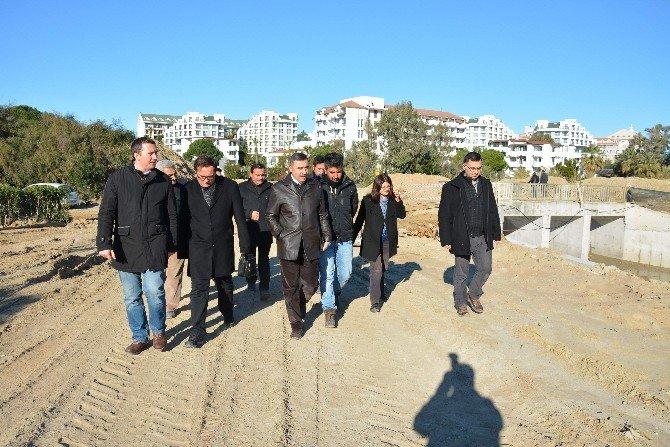 DSİ Bölge Müdürü Özgür İnşaatları İnceledi