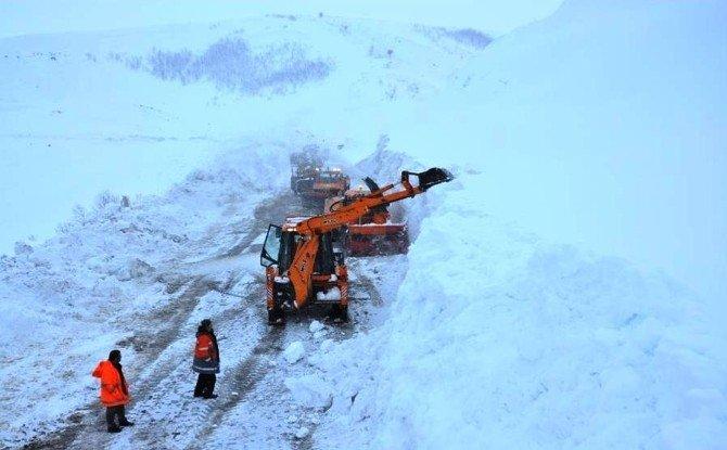 Doğuda Karla Mücadele Çalışmaları