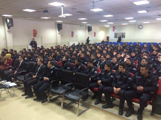Erzurum'da 230 Polis Adayına Evlilik Öncesi Eğitim Verildi