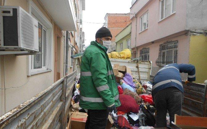 Yıldırım'da Çöp Ev Operasyonu