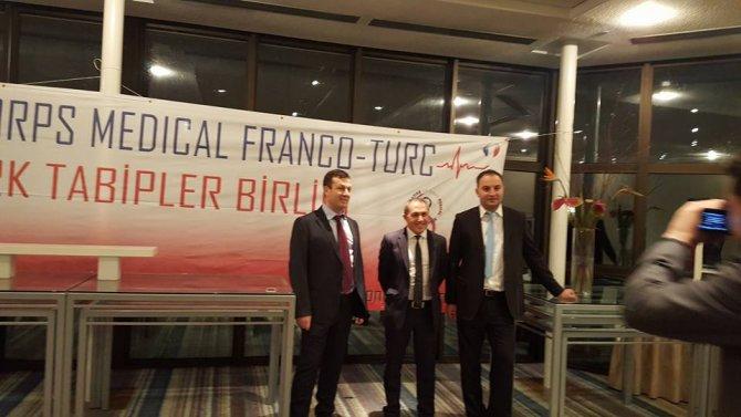 Fransalı Türk Tabipler Strasbourg'da ilk buluşmasını gerçekleştirdi