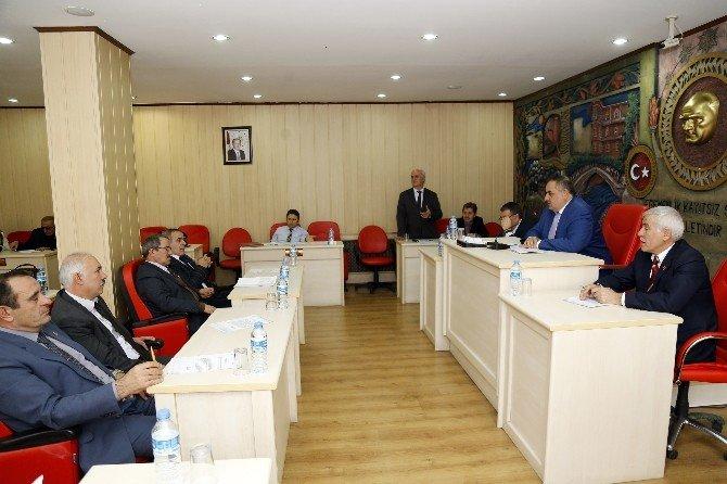 Gümüşhane İl Genel Meclisi'nin Şubat Ayı Toplantıları Başladı