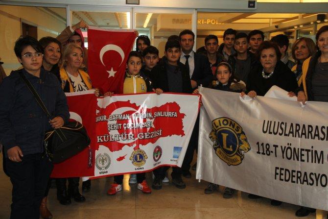 Güneydoğulu şehit çocukları İstanbul'u gezecek