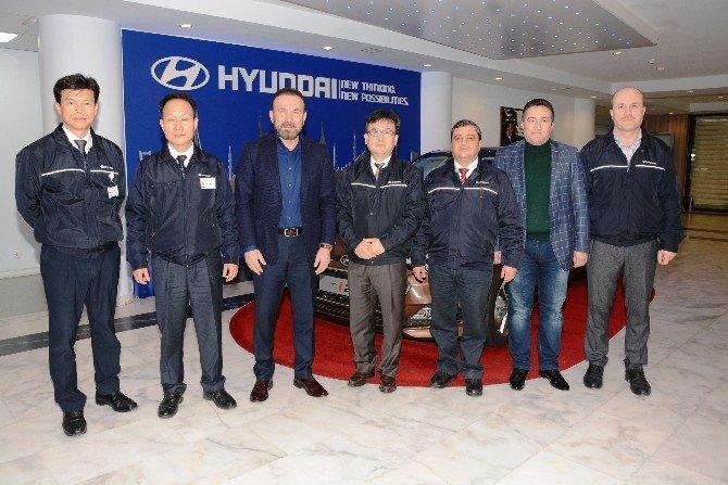 Başkan Doğan'dan Hyundai Fabrikası'na Ziyaret