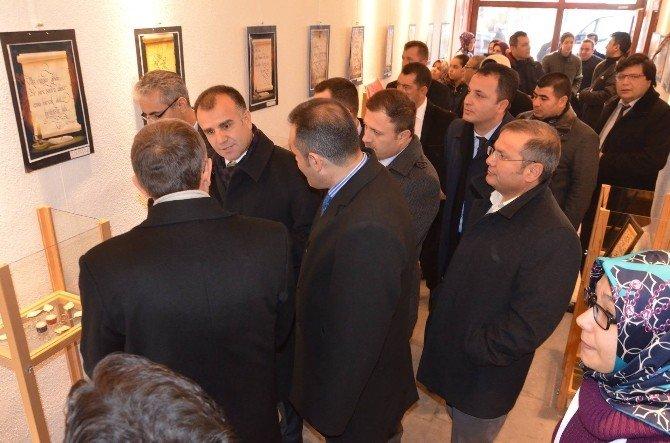 Karaman'da Mevlana'dan İnciler Sergisi