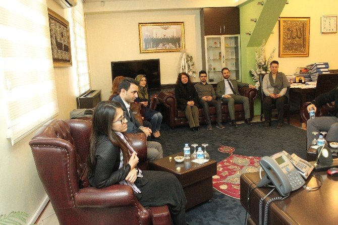 Başkan Hiçyılmaz, Kadın Ve Genç Girişimci Kurulu Üyelerini Kabul Etti