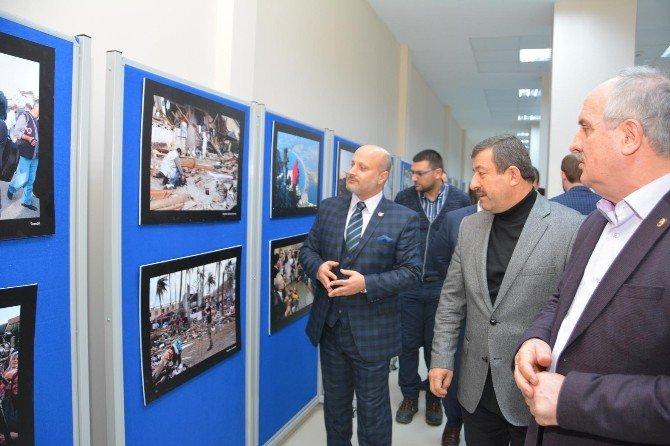 Kamera Arkası Gazetecileri Fotoğraf Sergisi Açıldı