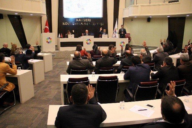 Kocasinan Belediyesi Ocak Ayı Meclis Toplantısı'nda 16 Madde Karara Bağlandı