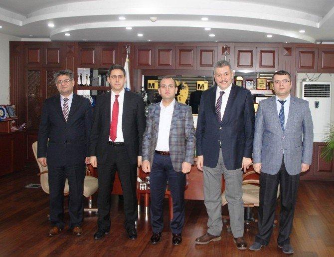 Mücahit Şirin Ve Ali Yıldız'dan Konya SMMMO'ya Ziyaret